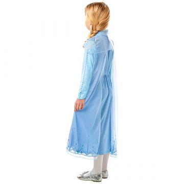 Disney Hercegnők Jégvarázs: Elza utazós ruhája - 104 cm - . kép