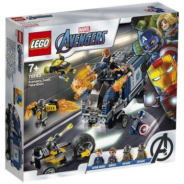 LEGO Marvel Super Heroes: Bosszúállók Teherautós üldözés 76143 - . kép