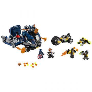 LEGO Marvel Super Heroes: Răzbunătorii - distrugerea camionului 76143 - .foto
