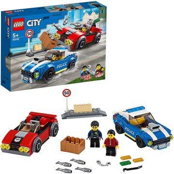 LEGO City: Rendőrségi letartóztatás az országúton 60242