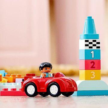 Lego Duplo: Cutie Deluxe în formă de cărămidă 10914 - .foto