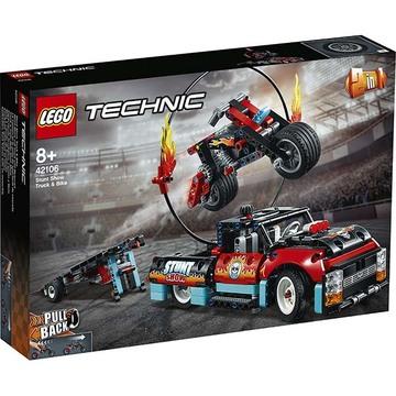 Lego Technic 42106: Kaszkadőr teherautó és motor - . kép