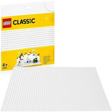LEGO Classic: Fehér alaplap 11010