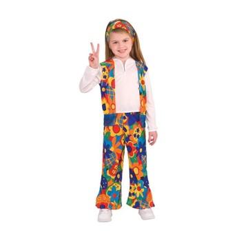 Costum fată Hippie - mărime S