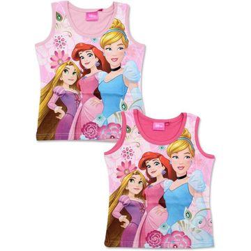 Disney hercegnők: ujjatlan póló - 98 cm, két színben