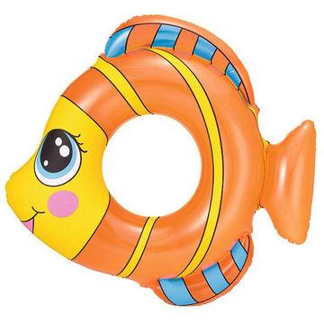 Bestway: Felfújható, halacska formájú gyermek úszógumi - 81 x 76 cm