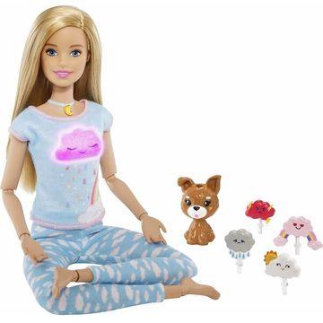 Barbie feltöltődés: Meditációs baba kutyussal, fény- és hanghatásokkal