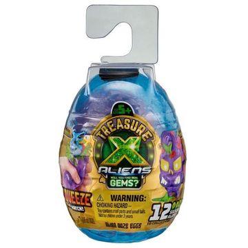 Treasure X: ALIENS - Mini Alien Szivárgó meglepetés tojások