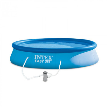 Intex: Easy Set piscină cu pompă de filtrare - 457 x 84 cm - .foto
