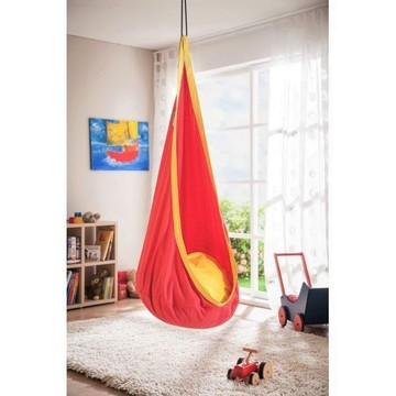 Spartan: Leagăn picătură - roșu-galben - .foto