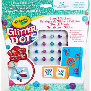 Crayola: Glitteres Dekorgyöngyök - Csodás minták készlet