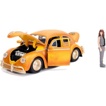 Transformers : Volkswagen Beetle Bumblebee Charlie figurával 1:24
