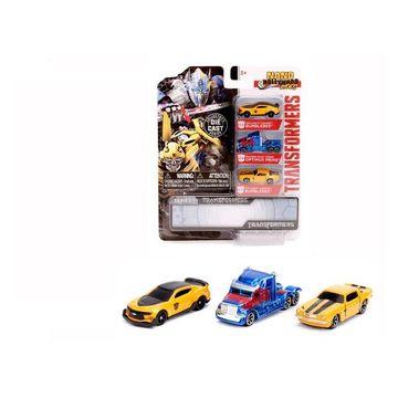Transformers: Nano fémautó szett - 3 darab
