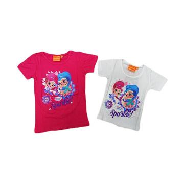 Shimmer és Shine lányka póló - 128 méret, kétféle színben