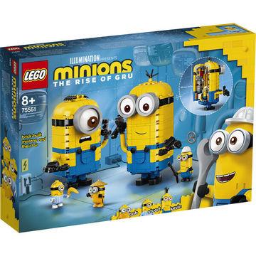 LEGO Minions: Kocka minyonok és barlangjuk 75551 - . kép
