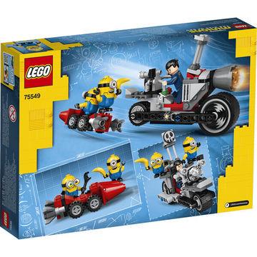 LEGO Minions: Megállíthatatlan motoros üldözés 75549 - . kép