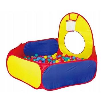 Iplay Set corturi de joacă cu bazin și tunel - 100 buc. mingi - .foto