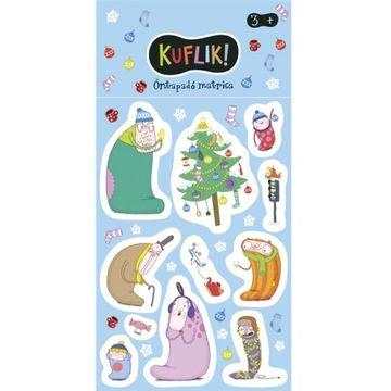 Grickles: pachet abțibilduri - Iarna