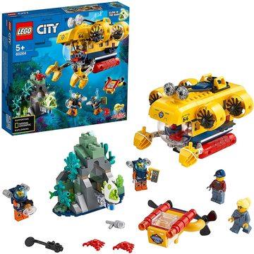 LEGO City: Submarin de explorare a oceanului 60264
