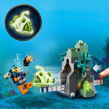 LEGO City: Submarin de explorare a oceanului 60264 - .foto