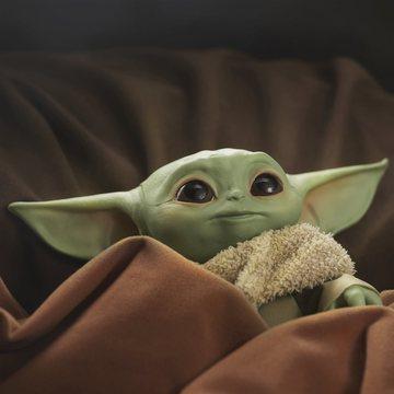 Star Wars: Baby Yoda műanyag figura - 15 cm - . kép