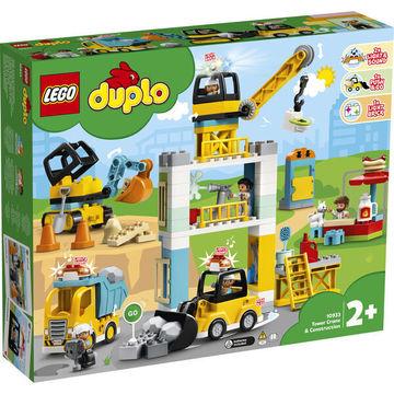 LEGO DUPLO: Toronydaru és építkezés 10933