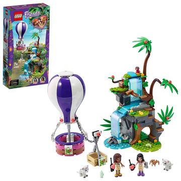 LEGO Friends: Salvarea tigrului din junglă cu balonul de aer cald 41423
