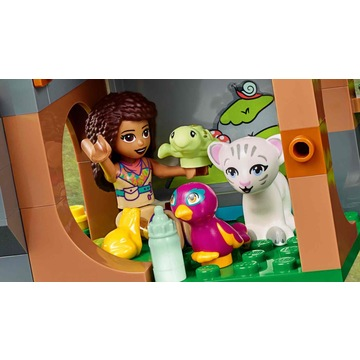 LEGO Friends: Salvarea tigrului din junglă cu balonul de aer cald 41423 - .foto