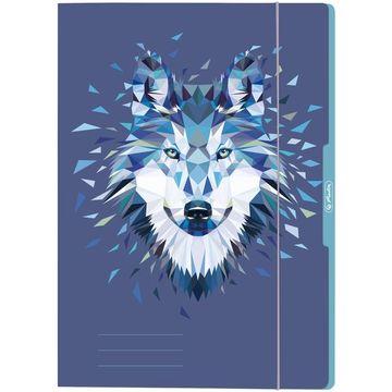 Wild Animals Wolf gumis mappa - A4