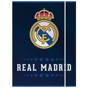 Real Madrid karton gumis mappa, A4