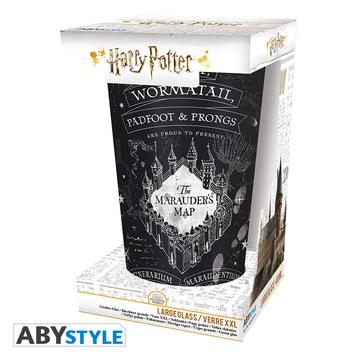 Harry Potter: Tekergők térképe XXL üvegpohár - 400 ml - . kép