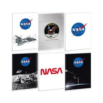 Ars Una: Nasa négyzetrácsos füzet - A4, többféle