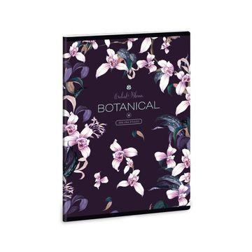 Ars Una: Botanic Orchid vonalas füzet - A5
