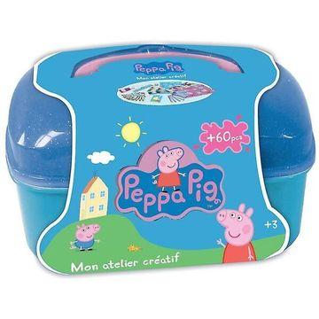 Peppa Malac: 60 db-os kreatív bőrönd