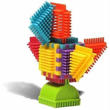 Seeko Blocks: Színes tüske építő csomag, 50 db-os - . kép