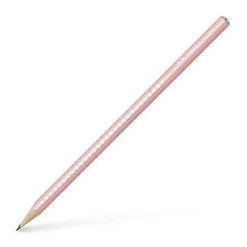 Faber-Castell: Sparkle gyöngyházfényű grafitceruza, pink - HB