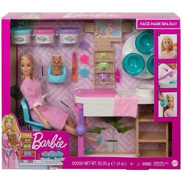 Barbie feltöltődés - Szépségszalon játékszett - . kép