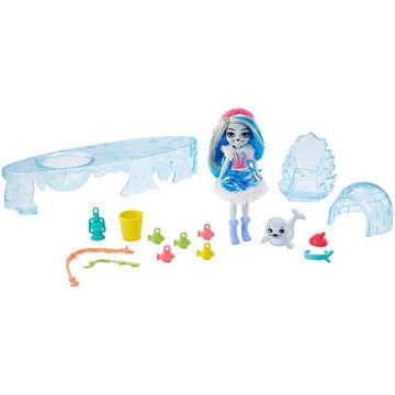 Enchantimals jeges horgászszett Sashay Seal babával - . kép