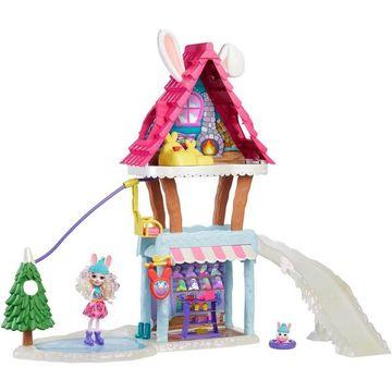 Enchantimals: Téli üdülőközpont Bevy Bunny babával