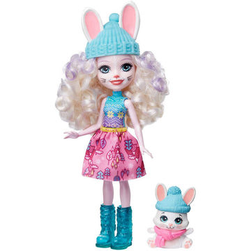 Enchantimals: Téli üdülőközpont Bevy Bunny babával - . kép
