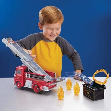 Verdák: Piro tűzoltóautó játékszett színváltós kisautóval - . kép