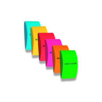 Koh-I-Noor: Plastic Radieră curbată - diferite culori