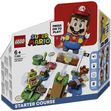 LEGO Super Mario: Mario kalandjai kezdőpálya 71360 - . kép