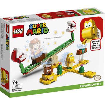 LEGO Super Mario: A Piranha növény erőcsúszdája kiegészítő szett 71365 - . kép
