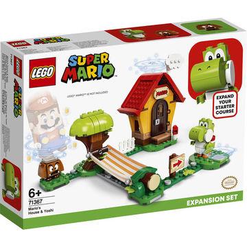 LEGO Super Mario: Mario háza és Yoshi kiegészítő szett 71367 - . kép