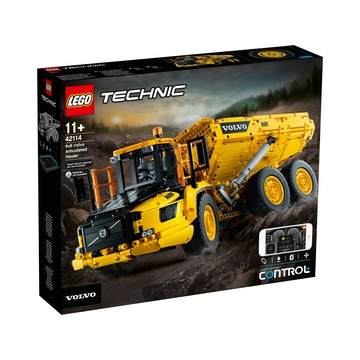 LEGO Technic: 6x6-os Volvo csuklós szállítójármű 42114