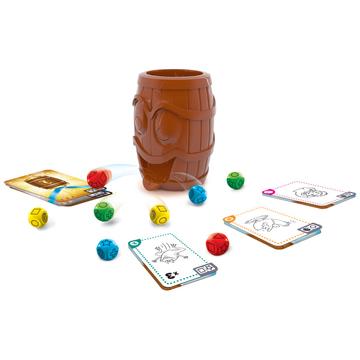 Trefl: Barrel of Laughs - Ha-Ha-Hordó társasjáték - . kép