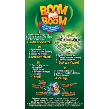 Boom Boom - Lucruri rău mirositoare - joc de societate - .foto