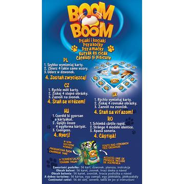 Trefl: Boom Boom - Kutyák és cicák ügyességi és logikai társasjáték - . kép