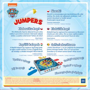 Trefl: Jumpers - Mancs Őrjárat, Repülő kalapok társasjáték - . kép